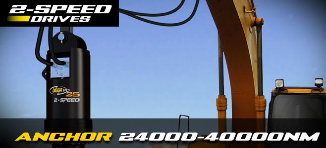 Anchor drives: 2 speed for 24000-40000nm - Digga Europe