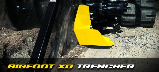 Bigfoot XD Trencher - Digga Europe