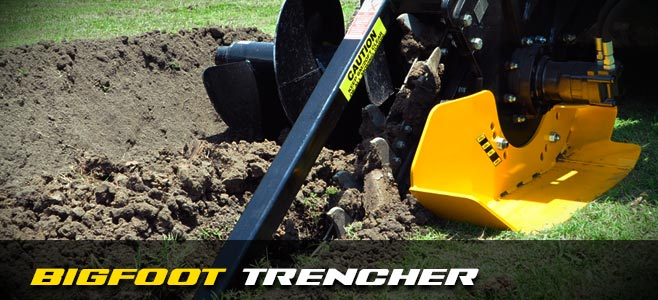 Bigfoot Trencher - Digga Europe