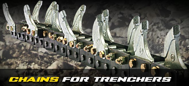 Chains for Trenchers - Digga Europe