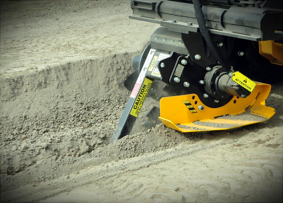 Trenchers for Excavators and Skid Steer Loaders