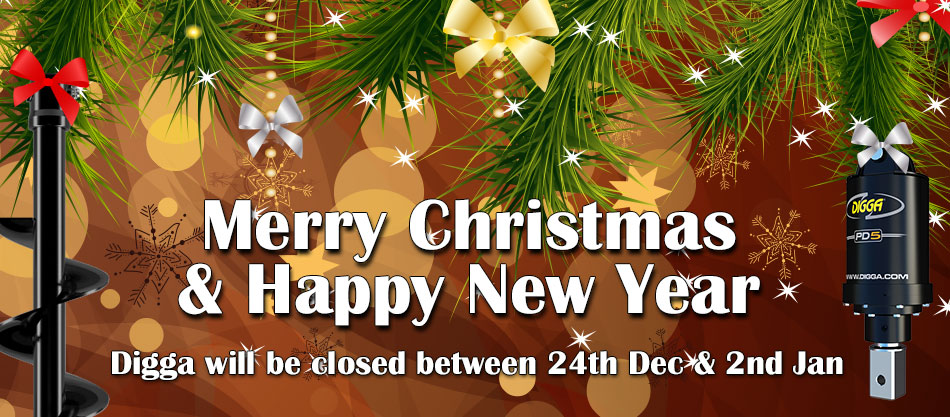 Digga will be closed between 24th Dec & 5th Jan. Merry Christmas and Happy New Year