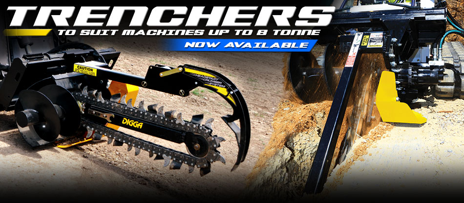 Trencher new design now available - Digga Europe